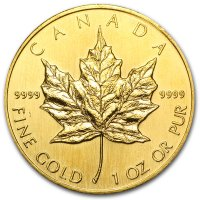 Maple Leaf Gold Revers 1990